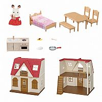 Red Roof Cozy Cottage-Calico Critters