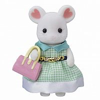 Stephanie Marshmallow Mouse-Town Girl Series-Calico Critters