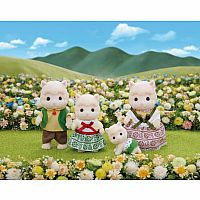 Woolly Alpaca Family-Calico Critters