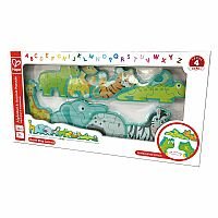 Alphabet & Animal Parade Puzzle