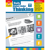 Daily Higher-Order Thinking - Grade 4