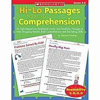 Hi-Lo Passages to Build Comprehension Gr 5-6