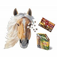 I Am Horse - 550 Piece Shaped Puzzle