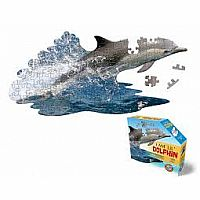 I Am Lil' Dolphin - 100 Piece Shaped Puzzle