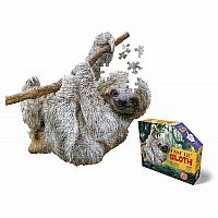 I Am Lil' Sloth - 100 Piece Shaped Puzzle
