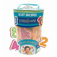 Soft Shapes Tub Stickables: Numbers