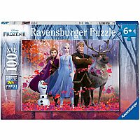 Frozen 2: Magic of the Forest - 100 Piece Puzzle