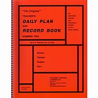 "Rotary System - ""The Original"" Teacher's Daily Plan and Record Book"