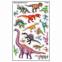 Discovering Dinosaurs - Supershapes Stickers