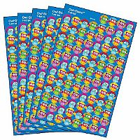 Owl-Stars Superspots Value Pack Stickers