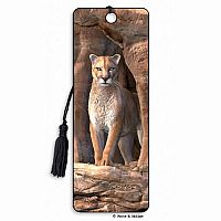 Cougar 3D Bookmark