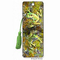 Bell Frogs 3D Bookmark