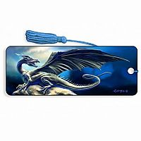 Black Dragon 3D Bookmark
