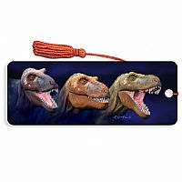 Tri-Rex 3D Bookmark