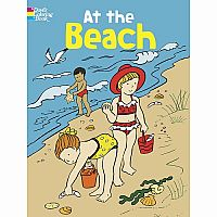 At the Beach Colouring Book