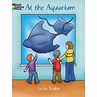 At the Aquarium Colouring Book