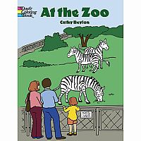 At the Zoo Colouring Book