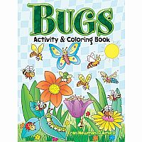 Bugs Activity and Colouring Book