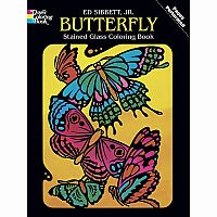 Butterfly Colouring Book - Stained Glass