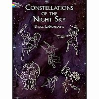 Constellations of the Night Sky Colouring Book