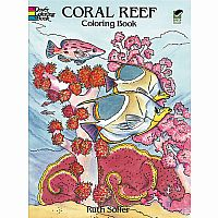 Coral Reef Colouring Book