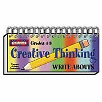 Creative Thinking Write-Abouts Gr 4-8