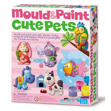 Cute Pets Mould & Paint