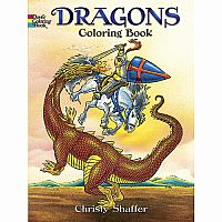 Dragons Colouring Book