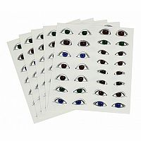 Eyeball Stickers, Large - 150 stickers