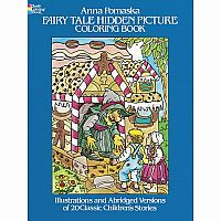 Fairy Tale Hidden Picture Colouring Book