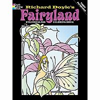 Fairyland Colouring Book - Stained Glass