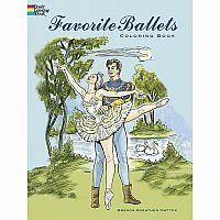 Favourite Ballets Colouring Book
