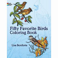 Fifty Favourite Birds - Colouring Book