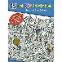 Find and Colour Activity Book