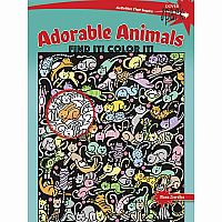 Adorable Animals Find It! Colour It!