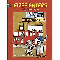 Firefighters Colouring Book