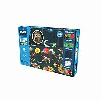Plus-Plus 400pc. Learn to Build - Glow in the Dark