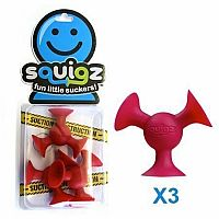 Squigz- Gobnob Red set of 3