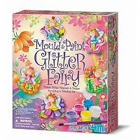 Glitter Fairy- Mould and Paint