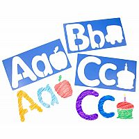 Big Alphabet and Picture Stencils
