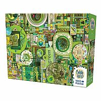 Green - Rainbow Collection 1000 Piece