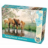 Horse Family - 350pc. Family Puzzle