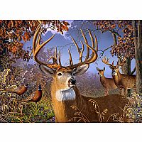 Deer and Pheasant (500 Piece Puzzle)