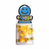 Squigz- Skooch yellow set of 3
