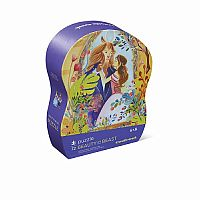 Beauty & the Beast Shaped Puzzle - 72 Pieces