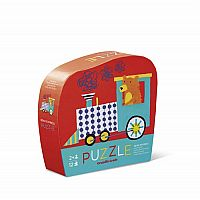 Bear Express Mini Puzzle - 12 Pieces