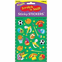 All-star Sports Stinky Stickers - Leather Scented